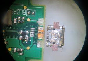 Broken Micro USB pads